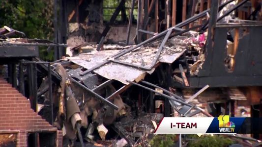 Fire officials pinpoint gas meter as origin of explosion in northwest Baltimore
