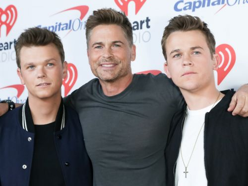 Rob Lowe's son keeps calling out his dad on Instagram for sharing shirtless selfies and falling for viral hoaxes