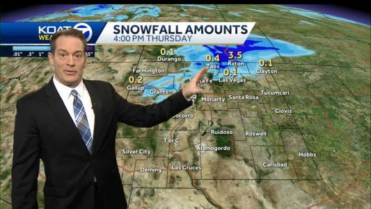 Temperatures about to tumble with a chance for light snow for parts of the state