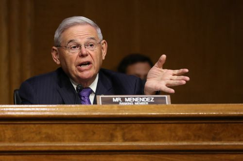 Menendez, with eye on committee chair, blasts Trump in new report