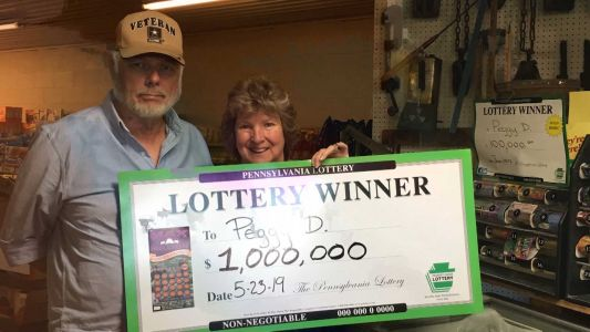 One lucky lady: Woman who won $1 million on scratch-off ticket has hit it big before