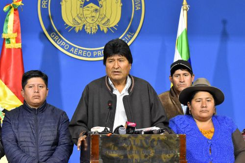 Why Is Evo Morales Suddenly No Longer President of Bolivia?