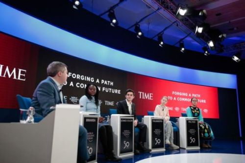 Greta Thunberg Joins Youth Activists on TIME Panel at Davos to Say 'Pretty Much Nothing' Has Been Done on Climate Change