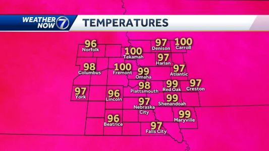Another record high falls, back in the triple digits