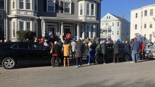 Vigil held for grandmother who was shot, killed at Boston home