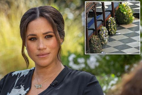 Meghan Markle watched funeral on TV, sent handwritten card with wreath