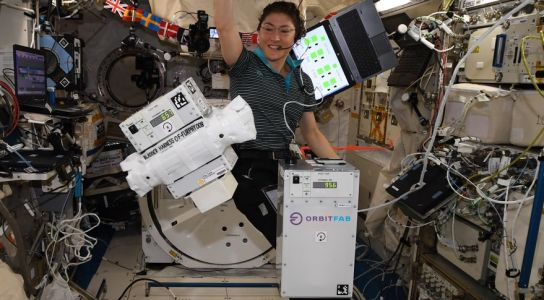 Orbit Fab Demonstrates Satellite Refueling Technology on Space Station