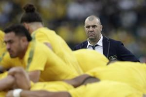 Rugby-Cheika to stand down as Australia coach after World Cup exit