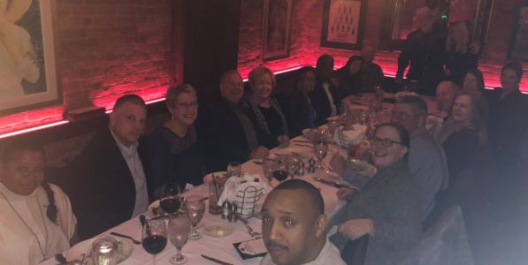 Jeff Ruby hosts dinner for police officers, victim of Fifth Third shooting