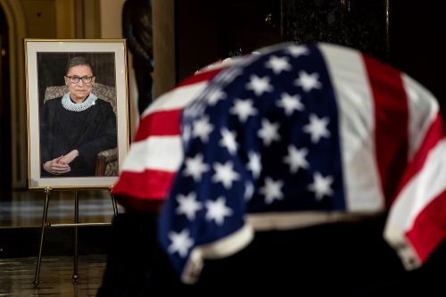 Ruth Bader Ginsburg laid to rest in private ceremony at Arlington National Cemetery