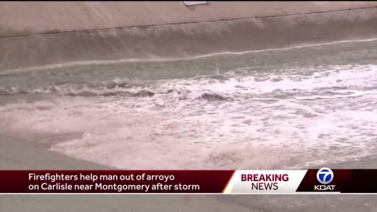 Officials: 5 people rescued, 1 person dead after storm
