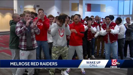 Wake Up Call from the Melrose Red Raiders