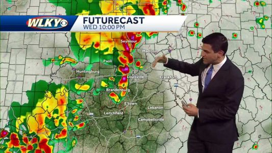 Heavy rain and storms expected