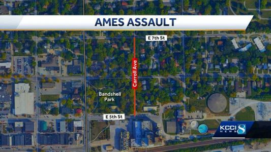 Authorities concerned by 'random nature' of Ames stabbing