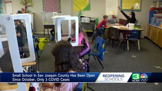 Rural San Joaquin school's COVID-19 safety measures help keep it open