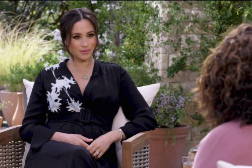 Meghan Markle dazzles in $4,700 Armani dress for Oprah interview