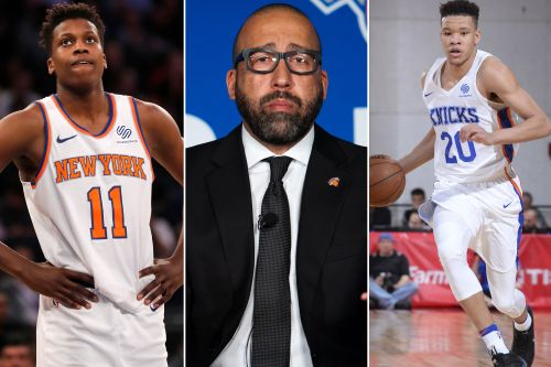 Knicks getting first test of new direction with camp opening