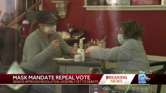 State Senate passes resolution to repeal mask mandate