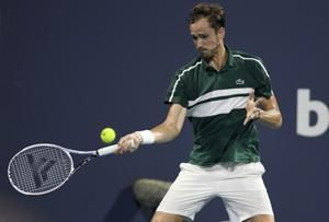 Medvedev out of Monte Carlo after positive COVID-19 test