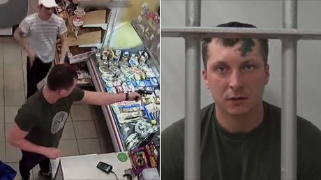 How to steal a million: Would-be criminal loses gun trying to rob a store