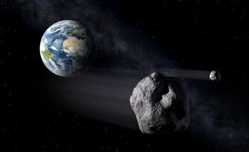An Eiffel Tower-sized asteroid is about to whiz by Earth. When it returns in 8 years, it could cross paths with our satellites