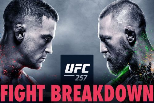 UFC 257 video: Conor McGregor, Dustin Poirier have intense final faceoff - with hot sauce