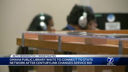 Omaha Public Library waits to connect to state network after CenturyLink changes service bid