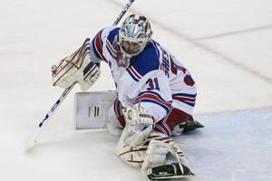 Shesterkin gets first NHL shutout, Rangers beat Devils 3-0