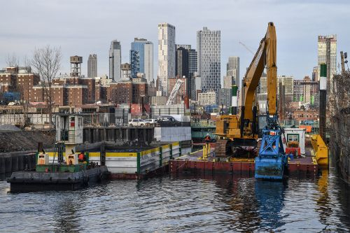 Toxic waste dredged from Gowanus Canal goes right back in after barge sinks