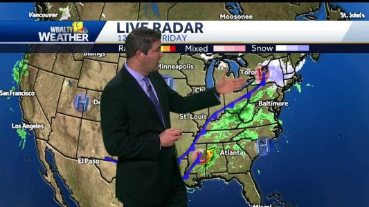 Isolated afternoon showers possible in some areas