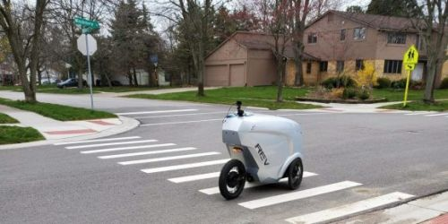 Refraction AI's robots start delivering groceries in Ann Arbor