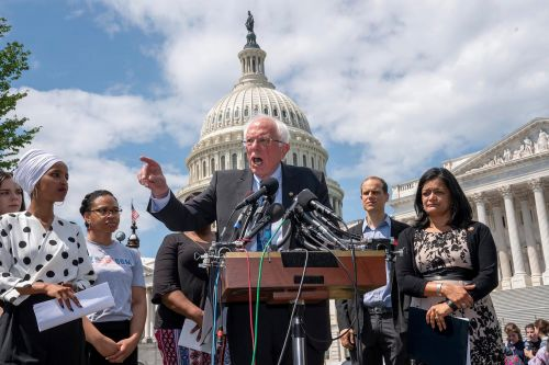Bernie Sanders' plan to take from the poor and give to the rich