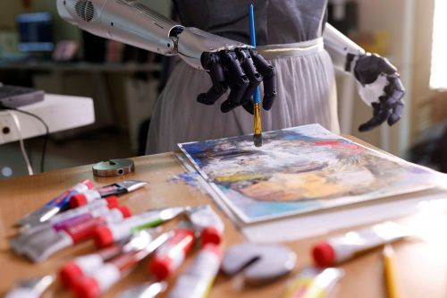 Humanoid robot Sophia has moved into the art world with a music project and an NFT sale, which reached almost $700,000