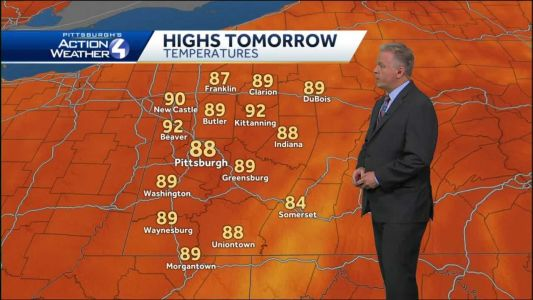 Warm and dry through the end of the week