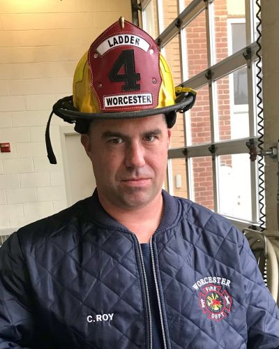 Fallen Worcester firefighter Christopher Roy 'always wanted the job'