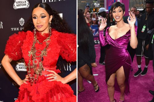 Cardi B's style went from sexy to sophisticated