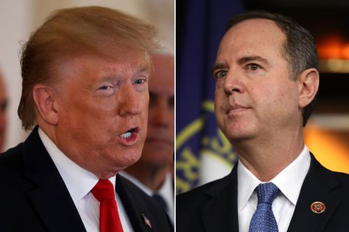 Trump says Adam Schiff 'has not paid the price, yet'