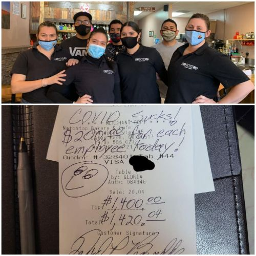 Customer Leaves $1,400 Tip At Colorado Bakery With Message 'COVID Sucks!'