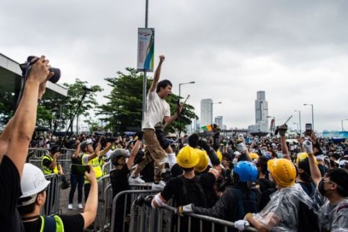 'Whenever There's Trouble He Rushes There.' Meet Legislator Roy Kwong, the God of Hong Kong Protests