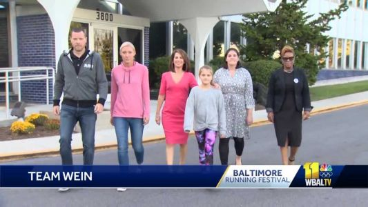 Team Wein ready to run in Baltimore relay race
