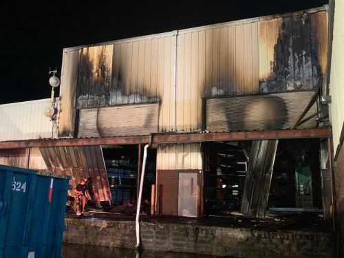 Early-morning fire damages Penn Hills manufacturing facility