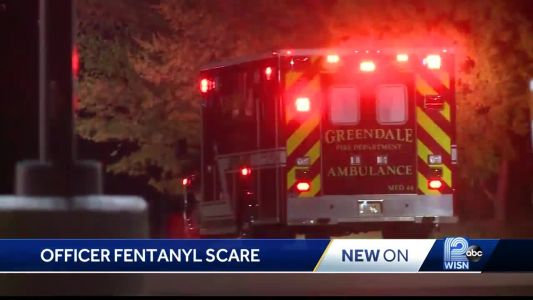 Two officers treated for fentanyl exposure outside Southridge Mall