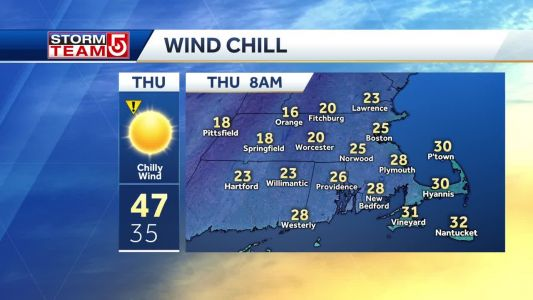 Video: Coldest air of the season arrives Wednesday night