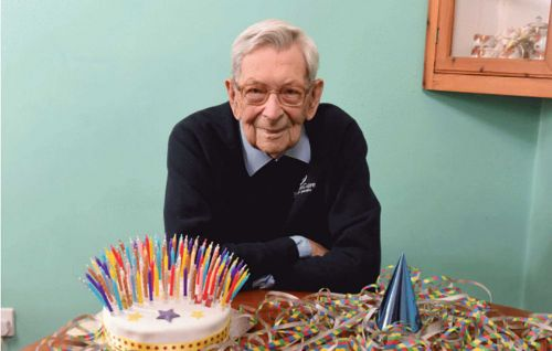 Born in 1908, this Brit is officially the world's oldest man alive