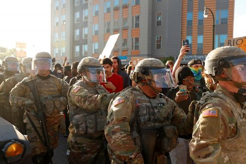 Minnesota Gov. Tim Walz activates all National Guard troops as George Floyd protests continue