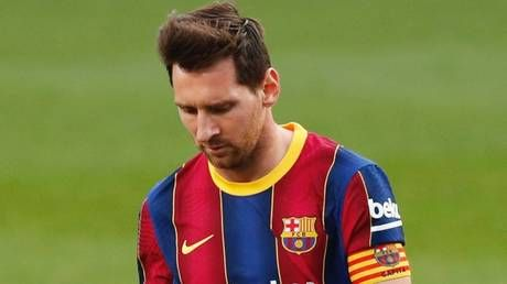 Catalan concern: Lionel Messi's open-play goal drought suggests Barcelona's off-field problems are manifesting on the pitch