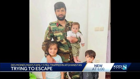 'They are living in fear': Iowa man's family still trapped in Afghanistan