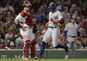 Highlights of Red Sox' 9-5 loss to Rangers