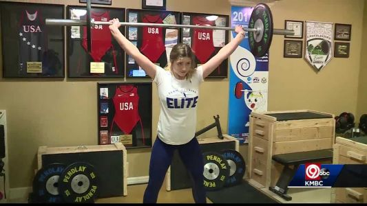 Staley High's Emma Nye an Olympic weightlifter