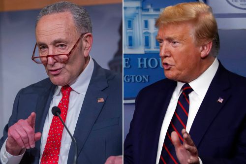 Chuck Schumer 'appalled' by Trump's letter calling him a 'bad' senator